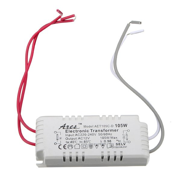Halogen Light LED Electronic Transformer 105W 12V 220V-240V