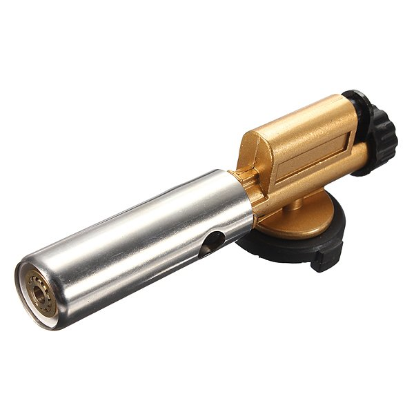 Camping Copper Welding Butane Burner Ignition Gas Torch Flame Gun