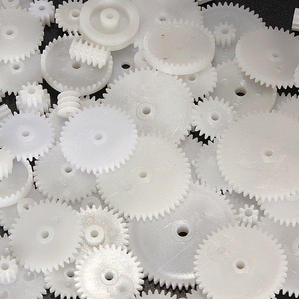 Gear Pack 58 Styles Plastic Gears Module 0.5 DIY Parts