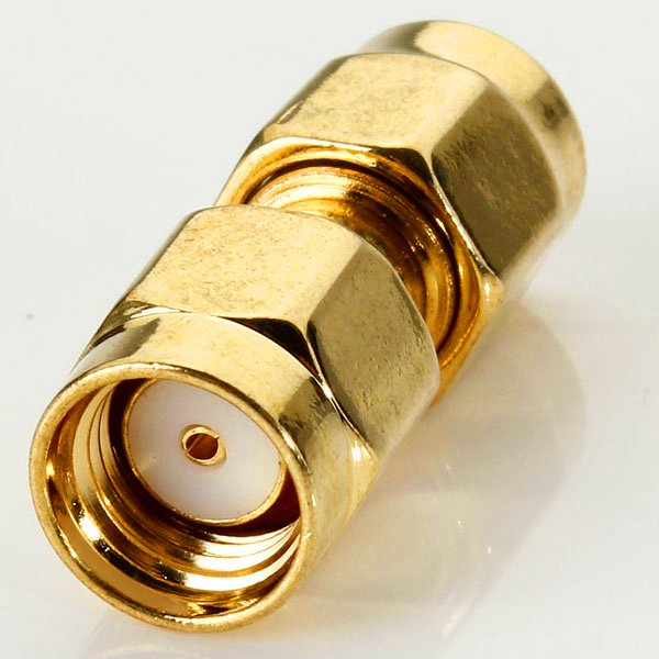 SMA Male to RP-SMA Male Jack Center RF Coaxial Adapter Connector