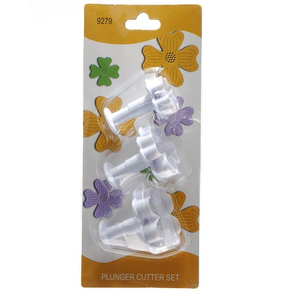 3 Lucky Clover Shaped Cookies Machine Decorating Tools