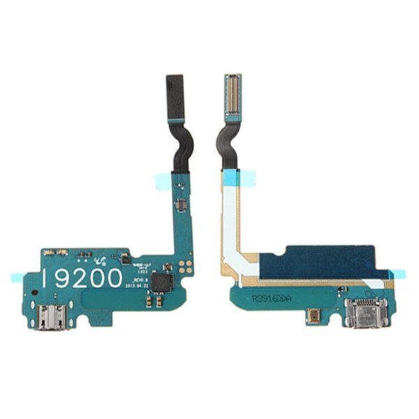 USB Charging Charger Port Flex Cable with Mic For Samsung i9200