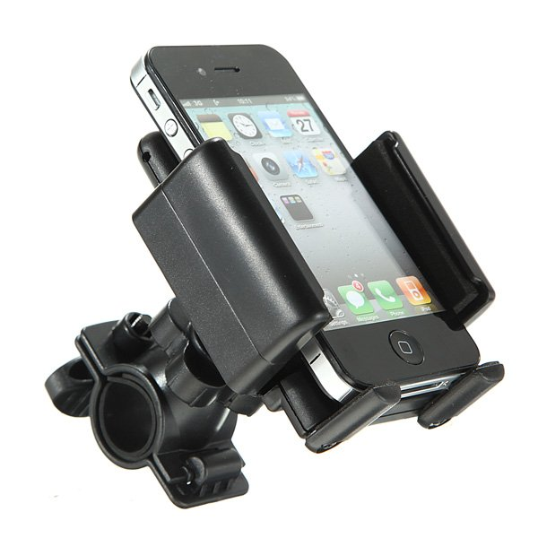 Universal Bicycle Handle Mount Holder For Cell Phones PDA iPhone ipod