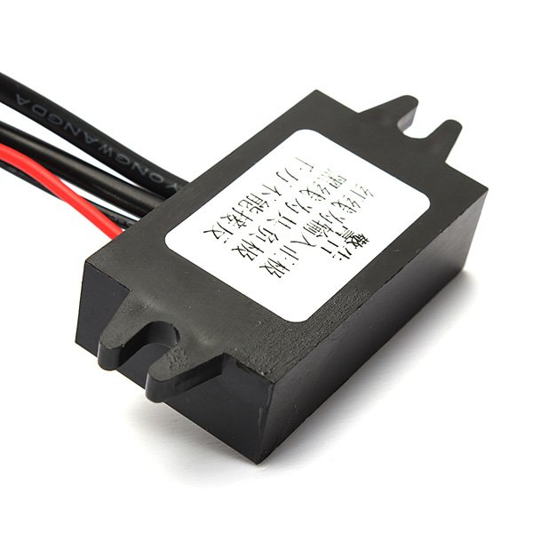 Double USB Car Converter Module 12V To 5V 3A 15W Power Adapter