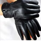 Men Ladies Motorcycle Winter Riding Leather Gloves For M