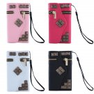Zipper Wallet Card Flip PU Leather Case Cover For iPhone 5 5S