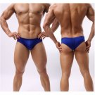 Mens Slim Fit Solid Color Briefs Underwear