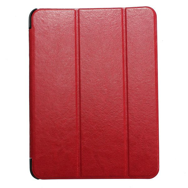 Tri-fold Folio PU Leather Case Cover For Samsung T530 Tablet