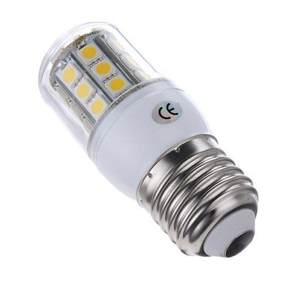 E27 3.2W 300LM Warm White 5050 30 SMD LED Corn Light Lamp Bulbs 220V