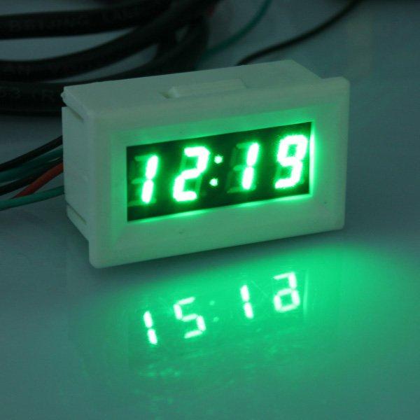"""0.3"""""""" LED Digital Display Meter Time Temperature Volt Measurement"""