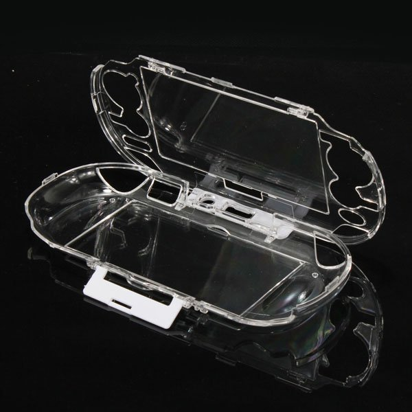 Protective Crystal Hard Case Cover Shell for PSV 1000 Transparent