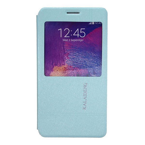 KALAIDENG Iceland PU Leather Case For Samsung Galaxy Note4 N9100