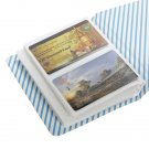64 Polaroid Mini Size Photo Album Pockets Credit Card Storage Case Book