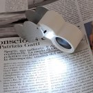 New Magnifier 40x25mm Jewelers Loupe Magnifying Glass