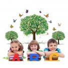 Happy Tree Removable PVC Wall Sticker Wallpaper 2190