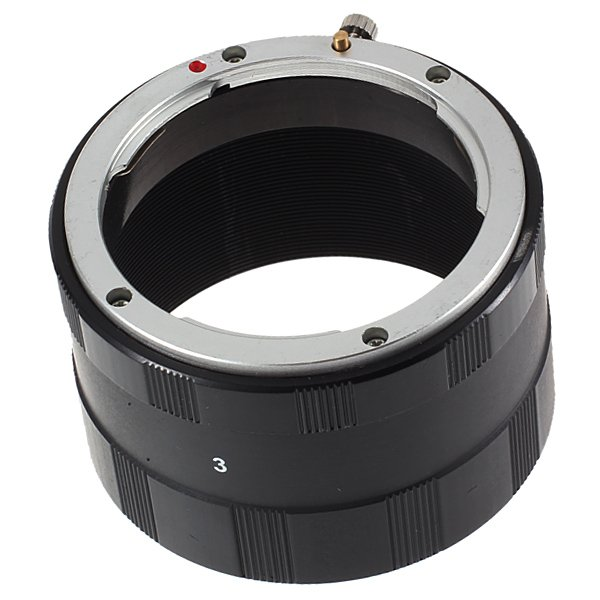 Macro Extension Tube Set Adapter Ring For Nikon Ai AF
