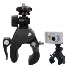 Motorcycle Bike Bicycle Handlebar Mount Tripod Screw Clip For Camera