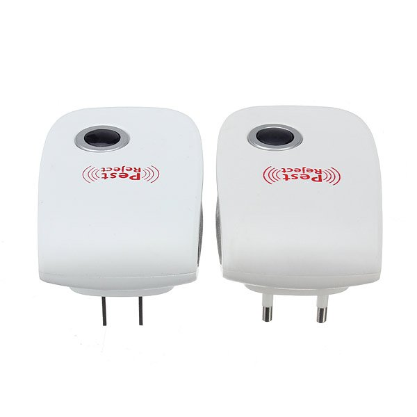 US EU Plug Ultrasonic Anti Mosquito Insect Mouse Pest Repeller