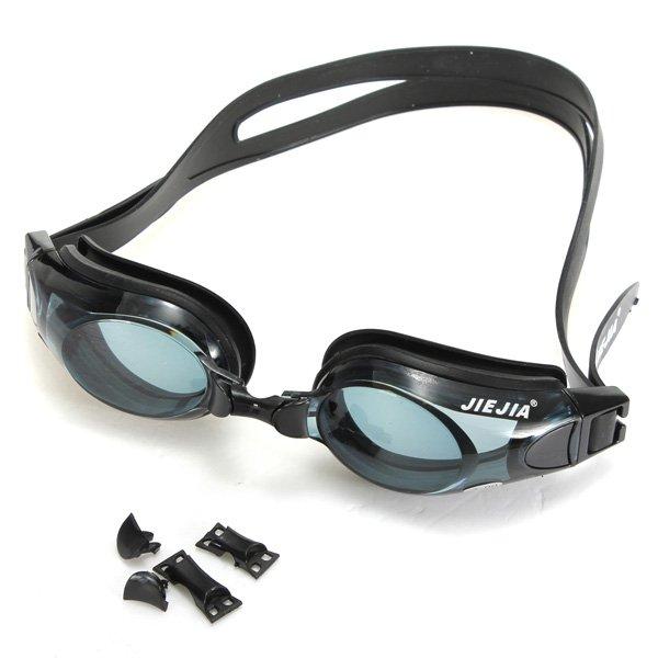 Silicone Swimming Cap Multi Optical Myopia Swimming Goggle Glasses