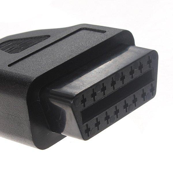 38-16Pin OBD OBD2 0.42 Meter Diagnostic Adaptor Cable for Benz