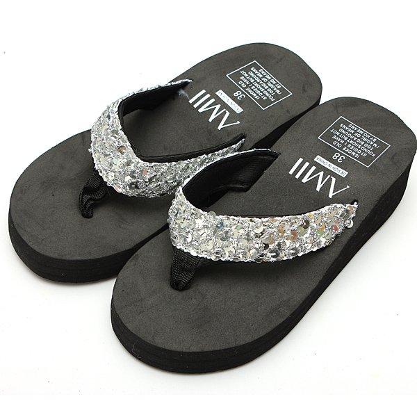 Sequins Beach Flip-flops Slippers