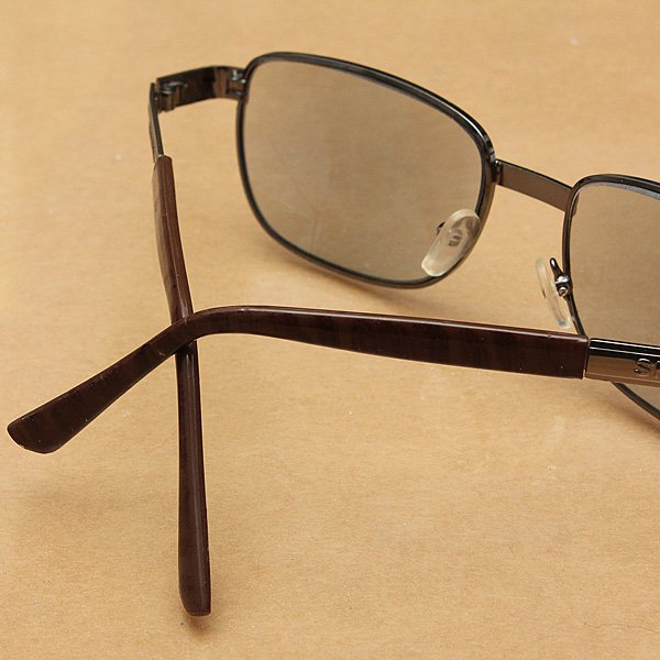 Mens Reading Sunglasses Matel Frame Rectangle Reading Sunglasses