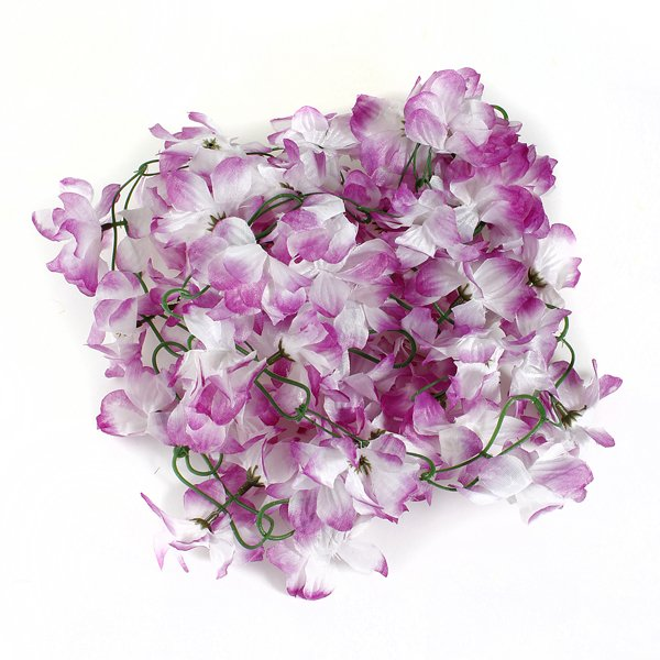 Artificial Silk Azalea Flowers Vine Plants Garland Wedding Home Decor