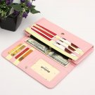 Long Purse Zipper Wallet Cards Phone Case For iPhone Smartphone