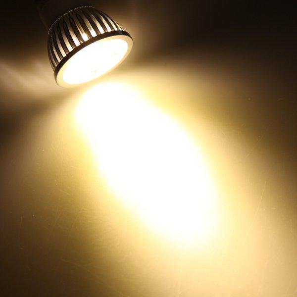 E14 4W Warm White LED Energy Saving Spot Light Bulb 85-265V