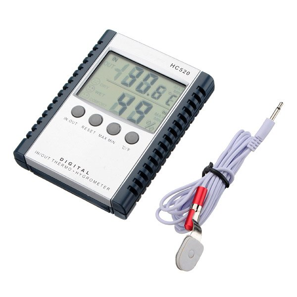 Digital Indoor Outdoor In/Out Thermometer Hygrometer