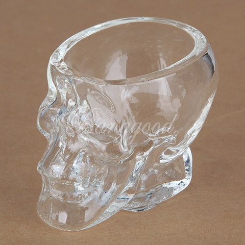 Crystal Skull Head Vodka Whiskey Shot Glass Cup