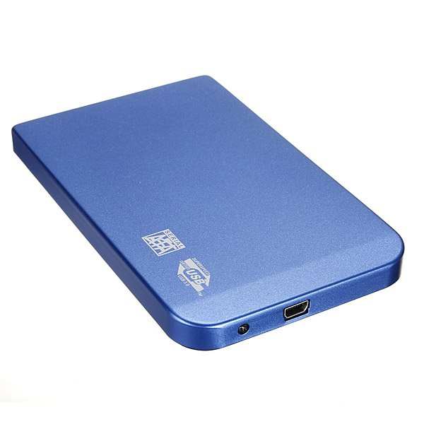 Aluminium 2.5inch USB3.0 SATA HDD Hard Drive Disk External Case