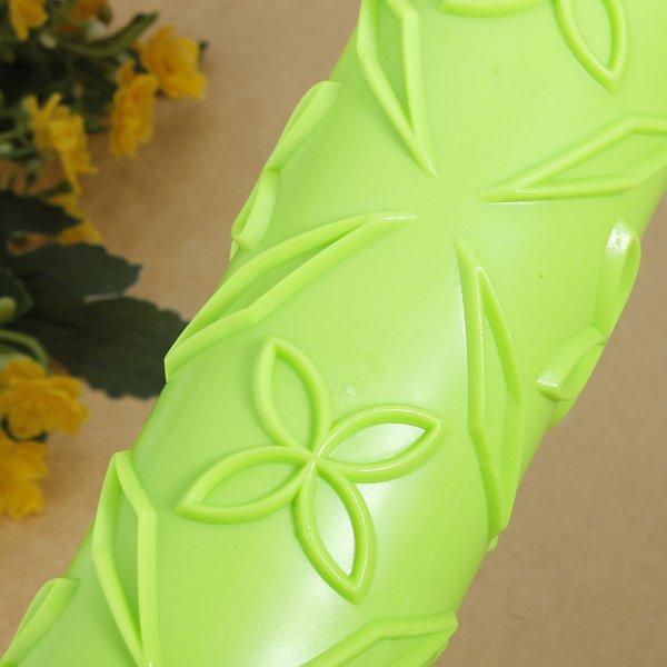 Leaf Flower Embossed Rolling Pins Sugarcraft Decorating Tool
