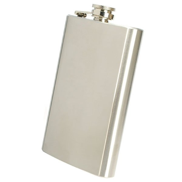 Whiskey Pocket 10oz Hip Flask Liquor Alcohol
