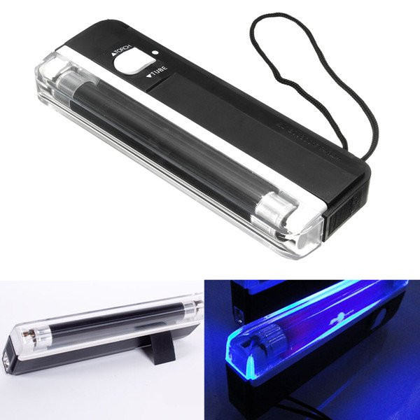UV Glow Black Light Ultra Violet Pet Urine Stain Detector Effects