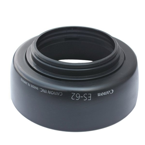 50MM ES-62 62-L Bayonet Lens Hood For Canon EF f/1.8 II