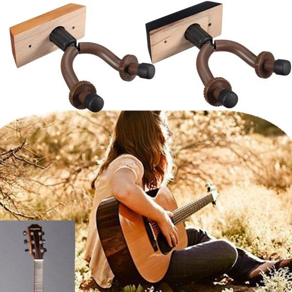 Guitar Hanger Hook Holder Wall Mount Display For Guitars Bass Violin