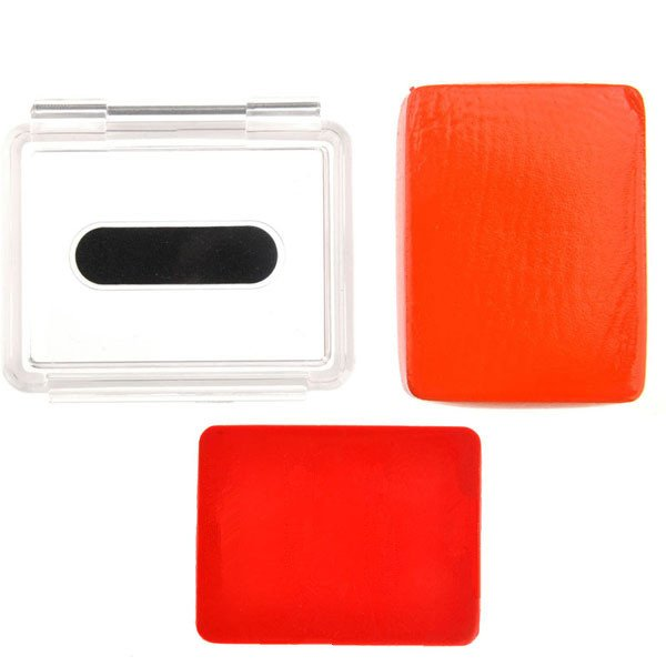 Gopro 3/2 Waterproof Shell+Buoy Backdoor Cover With 3M Sticker