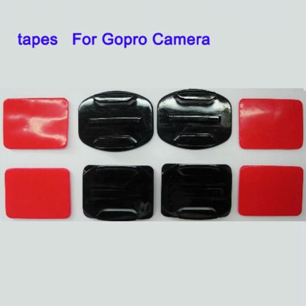 Gopro Hero 2 Hero3 HD2 Camera Planar And Arc Parts With Tapes