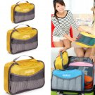 Portable Nylon Net Travel Luggage Underwear Organizer Handbag Storage