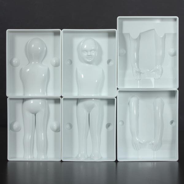 3D Girl Body Shape Fondant Cake Decorating Paste Plunger Cutters Mold