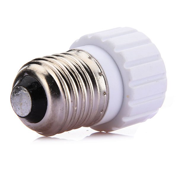 E27 to GU10 LED Light Lamp Bulbs Adapter Converter