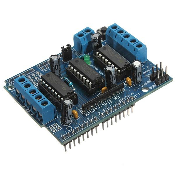 L293D Motor Drive Expansion Shield Board Module For Arduino Mega UNO Duemilanove