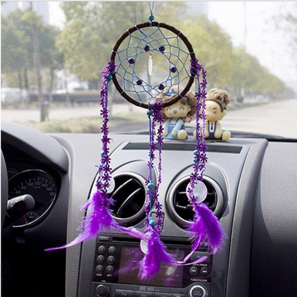 Dream Catcher Mascot Windbell Feather Automobiles Ornament Windbell