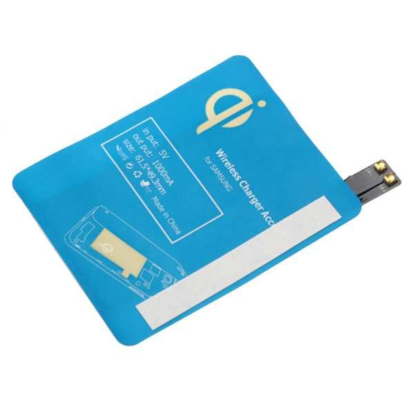 Qi Wireless Charger Accept Receiver For Samsung Galaxy S4 I9500