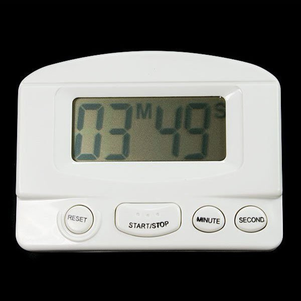 Digital LCD Kitchen Count Down Timer With Alarm