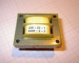 Mains Transformer ...220VAC to 22VAC / 2VA Transformator PCB Mount