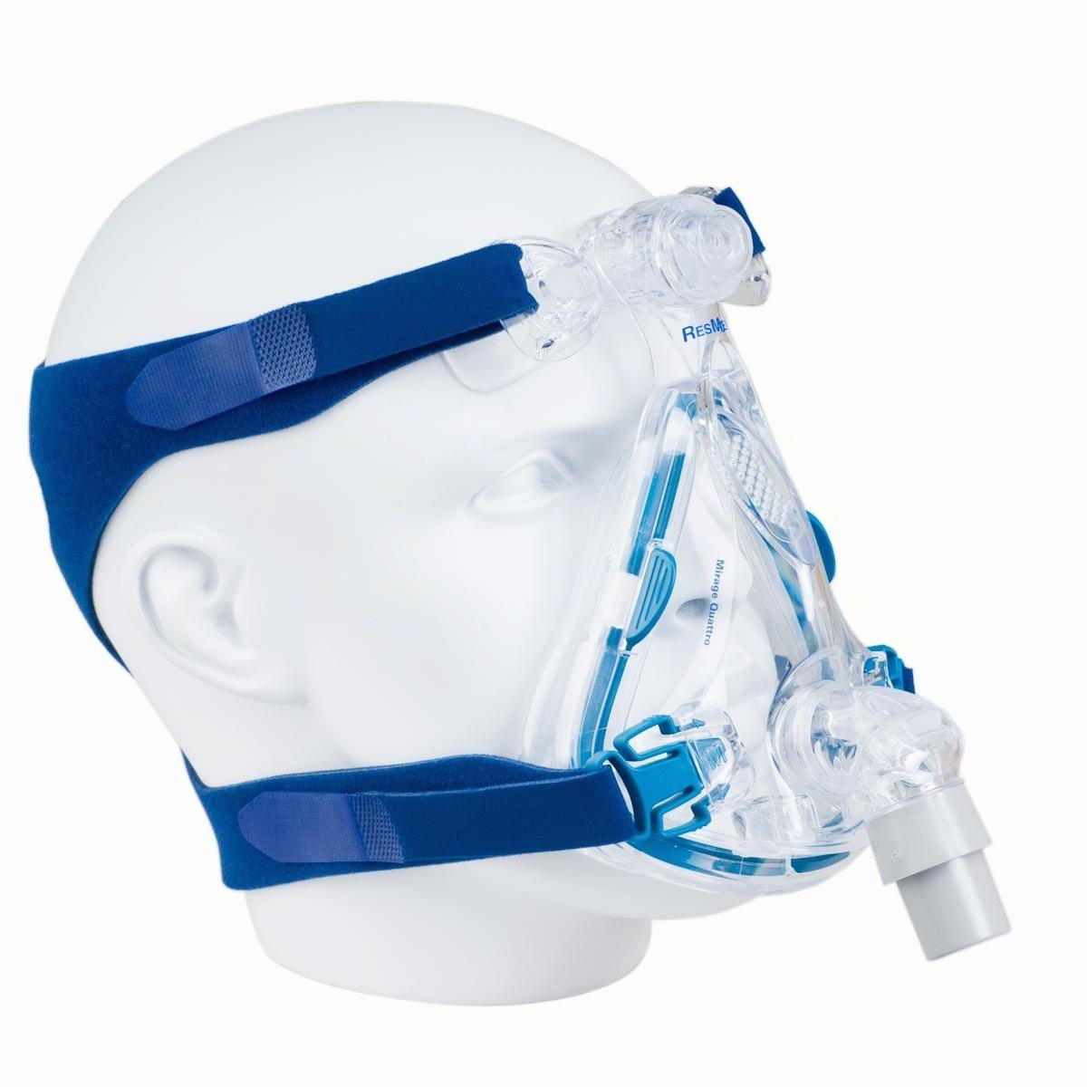 40% off -- Brand New ResMed Mirage Quattro Full Face CPAP Mask with Headgear, Size L