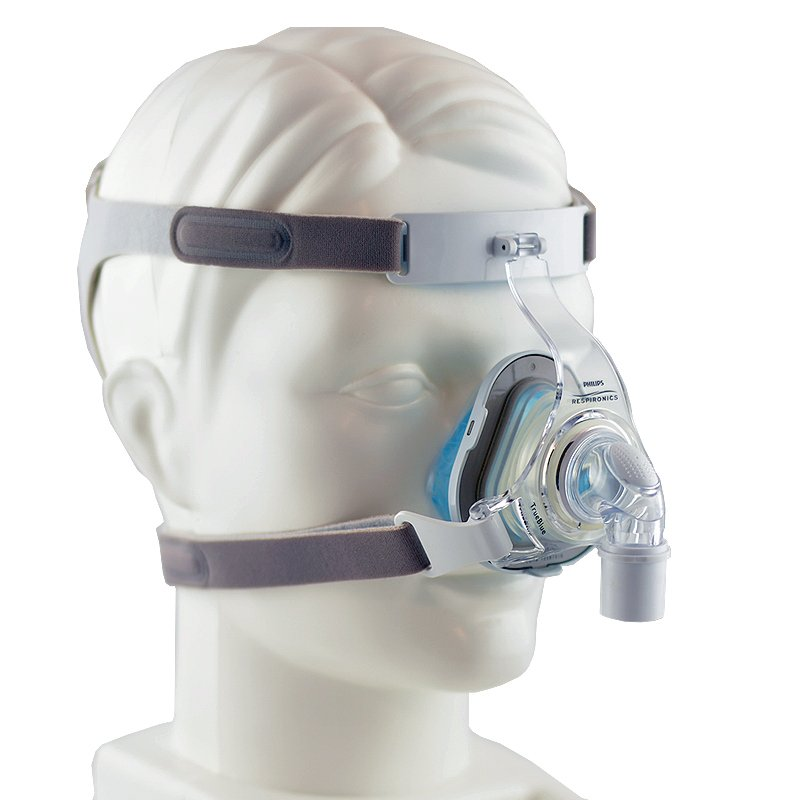 40% off -- NEW Respironics TrueBlue Gel Nasal CPAP Mask with Headgear, Size L