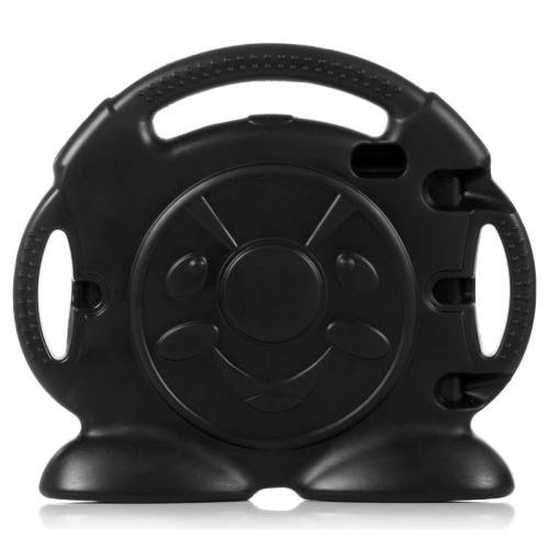 For iPad Air 2 / iPad 6 Black Anpanman EVA Bumper Portable Protective Case with Handle & Holder
